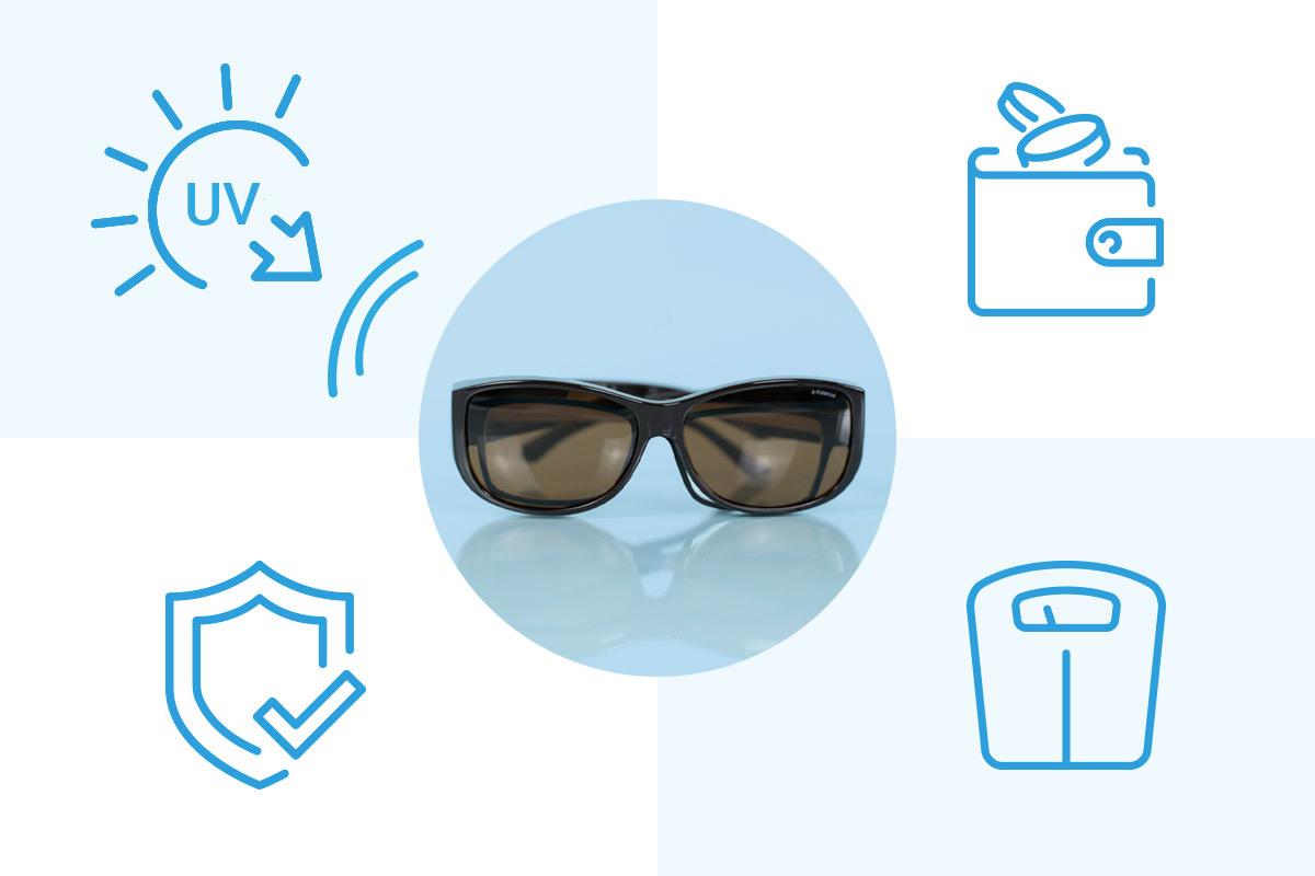 fordele og ulemper ved at fit over solbriller